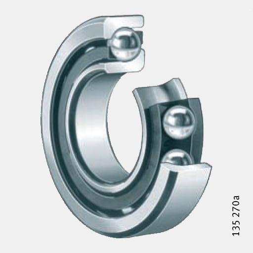 Angular contact ball bearings ตลับลูกปืนเม็ดกลมสัมผัสเชิงมุม